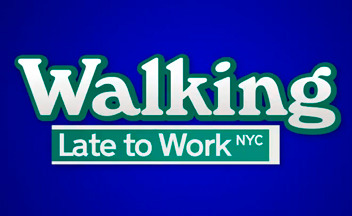 Walking-late-to-work-logo