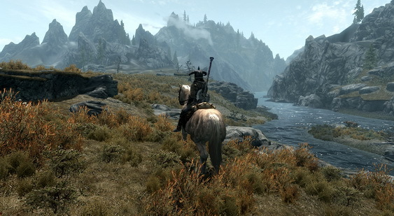 The Elder Scrolls 5: Skyrim скриншот