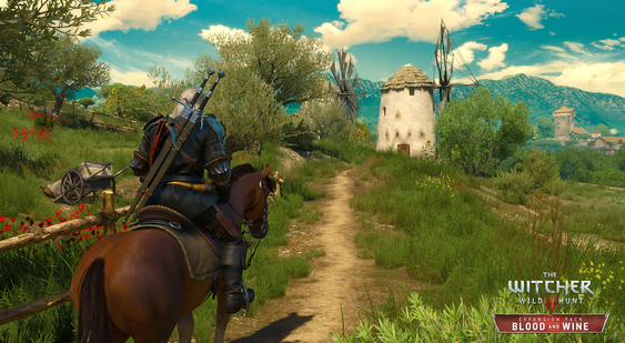 The Witcher 3 скриншот