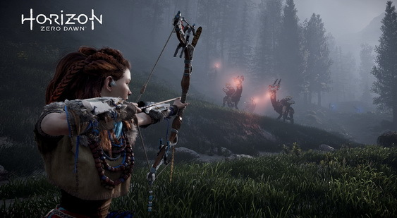 Horizon: Zero Dawn скриншот